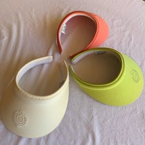 Liz Claiborne Sun visors set of 3